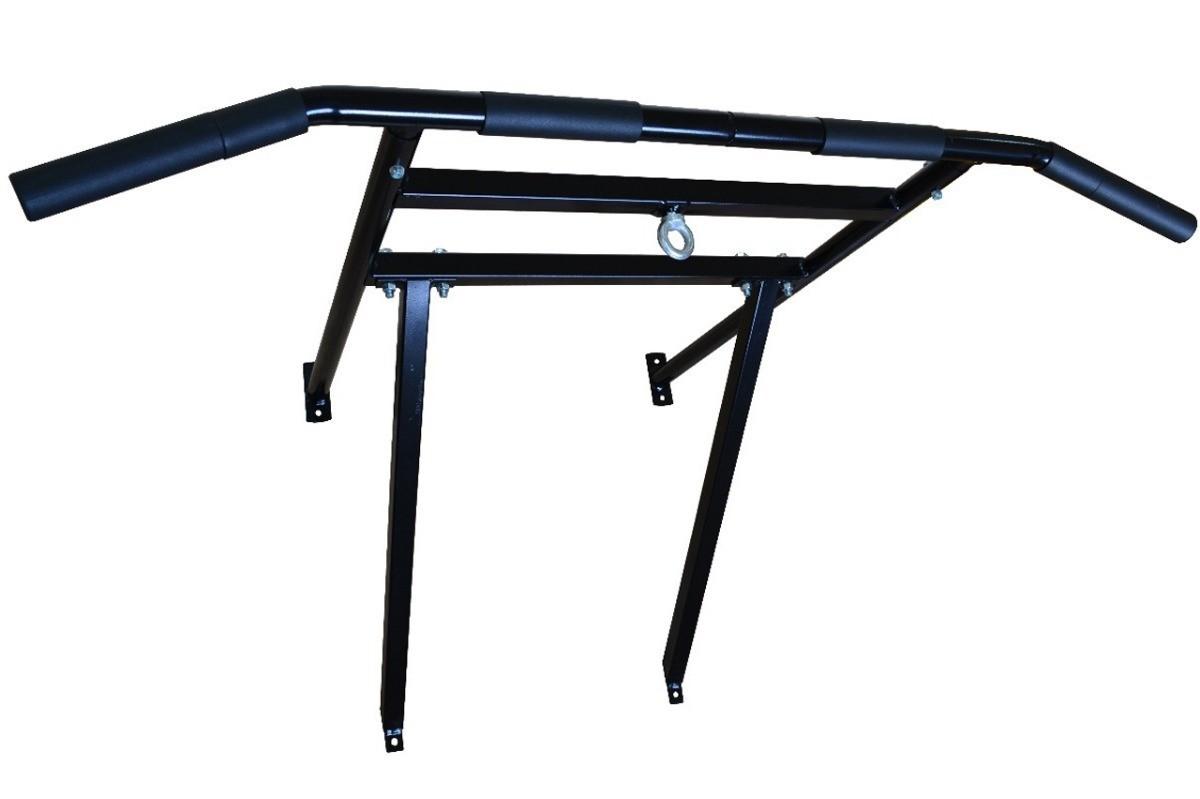 Foto2 - Barra Fixa De Parede 2.5 para Exercícios / Treinar em Casa - Suporta 180kg - Melhor Preço e Qualidade | Halteres e Anilhas