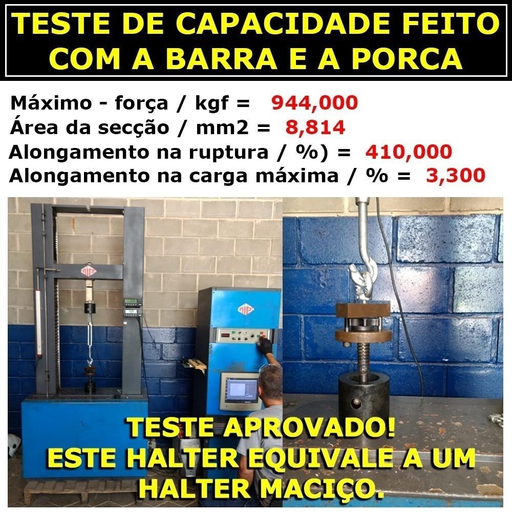 Foto4 - Kit 30kg Anilhas + Barras / Halteres 1.20 E 2 De 40cm Rosca Rápida