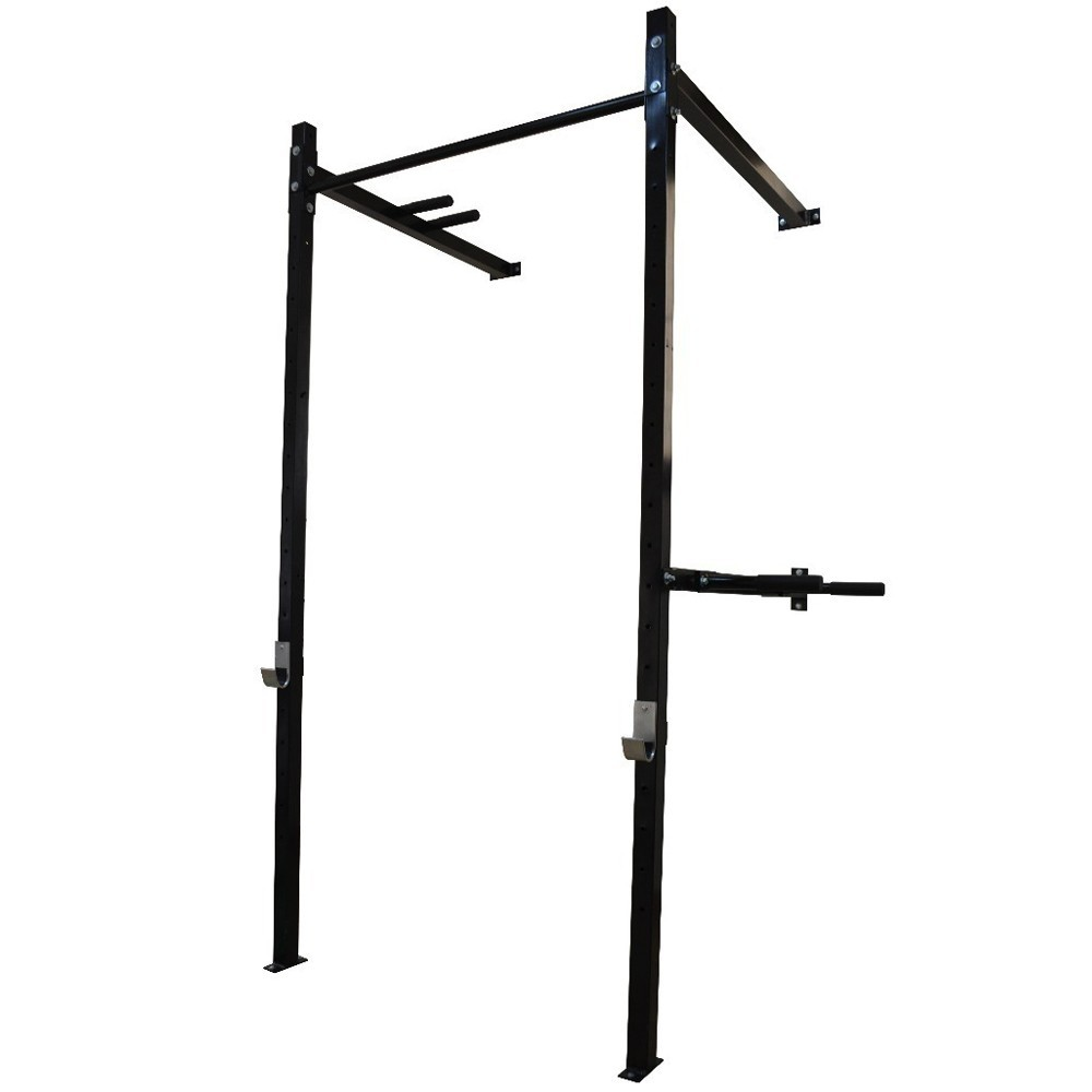 Foto 1 - Power Rack Para Musculação / Crossfit Agachamento Supino Fixa E Paralela. Excelente para seus Treinos. Menor Preço   Halteres e Anilhas
