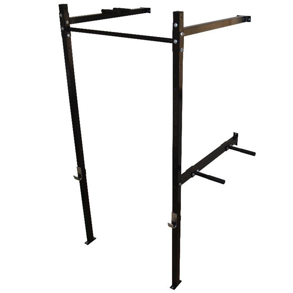 Foto4 - Power Rack Para Musculação / Crossfit Agachamento Supino Fixa E Paralela. Excelente para seus Treinos. Menor Preço   Halteres e Anilhas