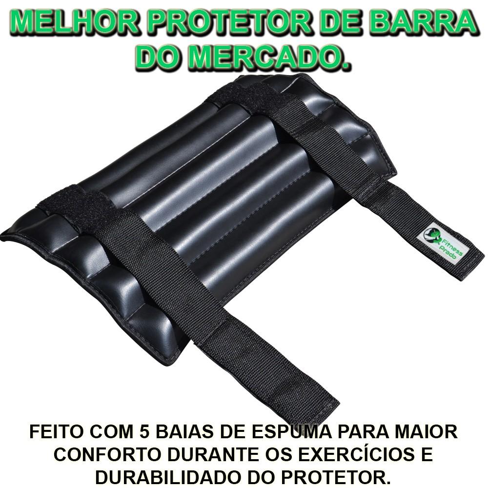 Foto5 - Protetor de Barra para Agachamento - Melhor Protetor do Mercado