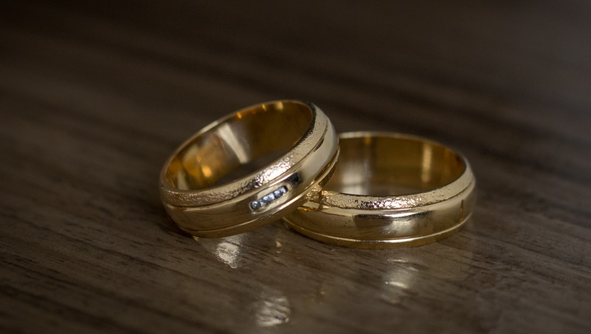 Foto3 - Aliança de Casamento Camila em Ouro 18K (11g 6,0mm)