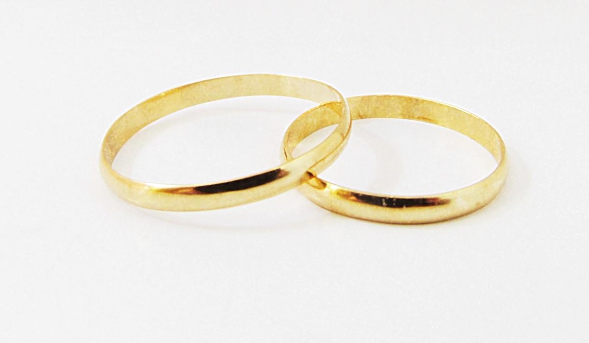 Foto 1 - Aliança de Casamento em Ouro 18K (2g 2,2mm)