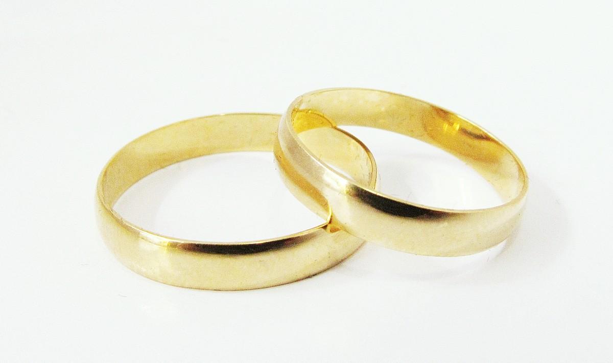 Foto 1 - Aliança de Casamento em Ouro 18K (4g 3,4mm)