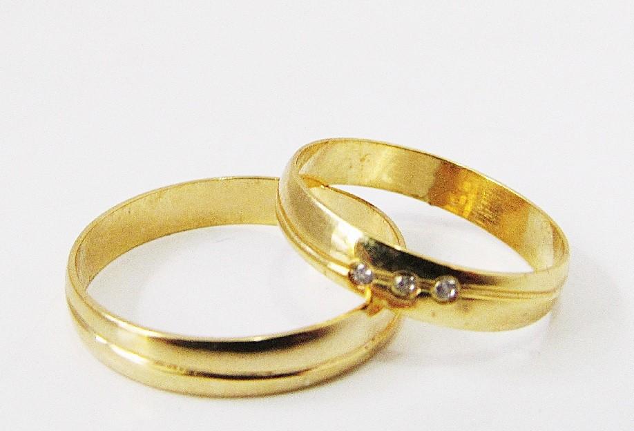 Foto 1 - Aliança de Casamento em Ouro 18K (4g 3,5mm)