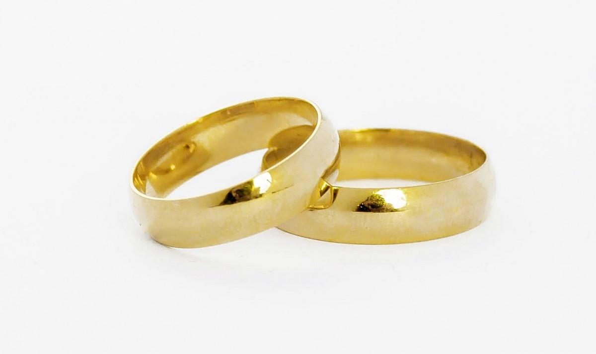 Foto 1 - Aliança de Casamento em Ouro 18K (7g 5,0mm)