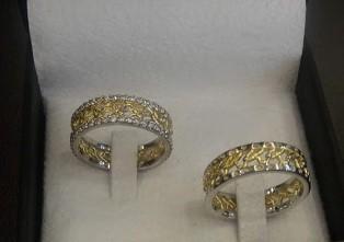 Foto5 - Aliança de Casamento linha Only Love em Ouro 18K Com Brilhantes