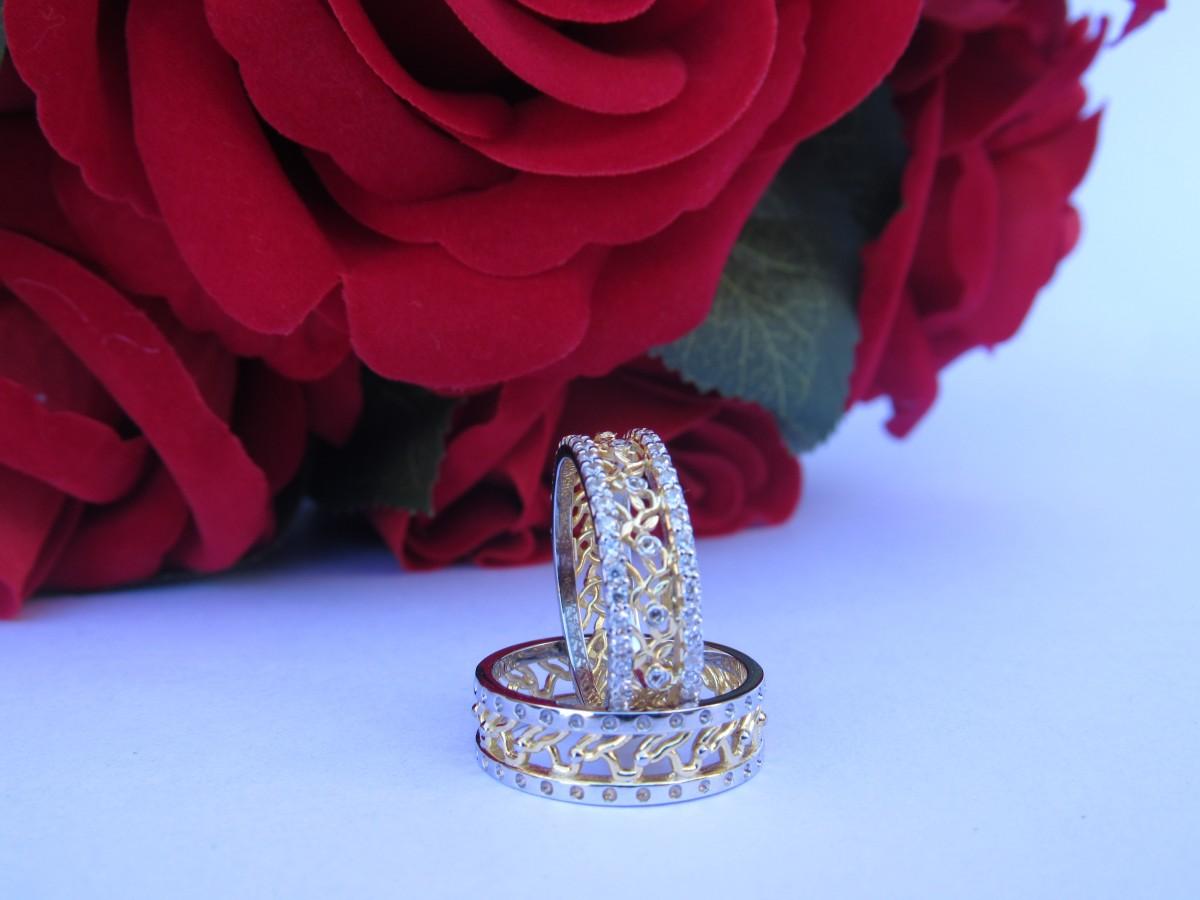 Foto 1 - Aliança de Casamento linha Only Love em Ouro 18K Com Brilhantes