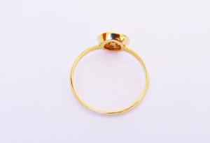 Foto3 - Anel Em Ouro 18K Chuveiro