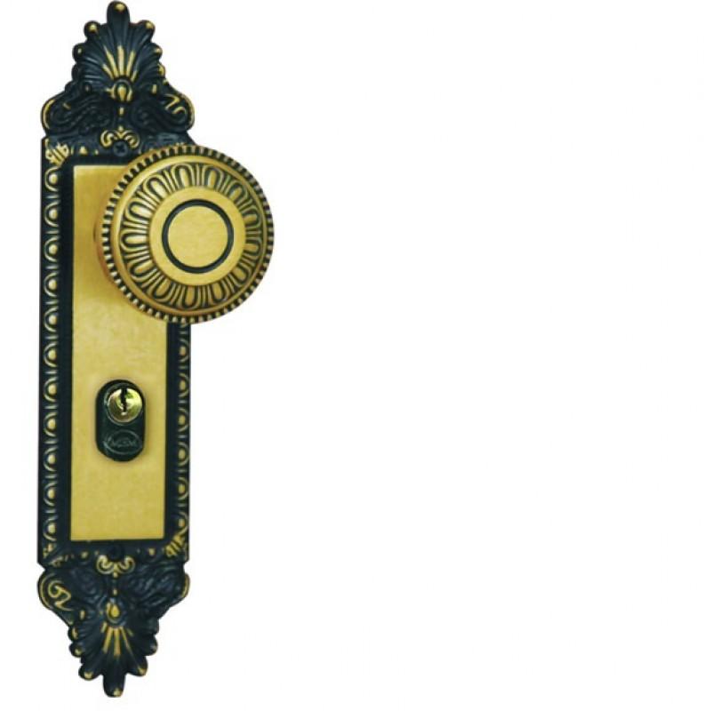 Foto 1 - Fechadura MGM Colonial Espelho Bola Externa