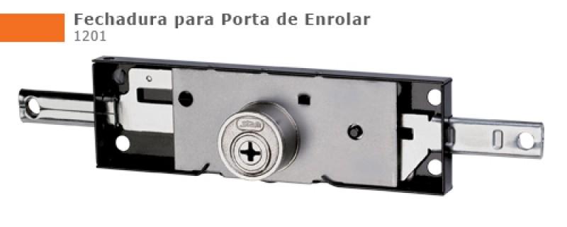 Foto 1 - Fechadura Porta de Enrolar Stam - 1201