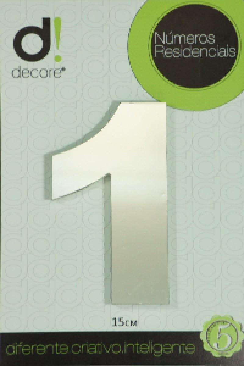 Foto2 - Numero Residencial Decore 7cm