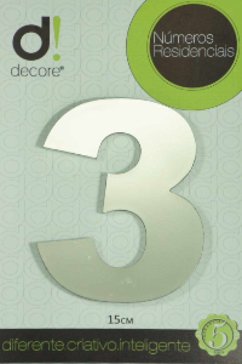 Foto4 - Numero Residencial Decore 7cm