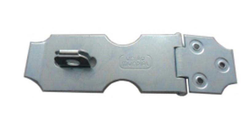 Foto2 - Porta Cadeado União Mundial em Aço Galvanizado