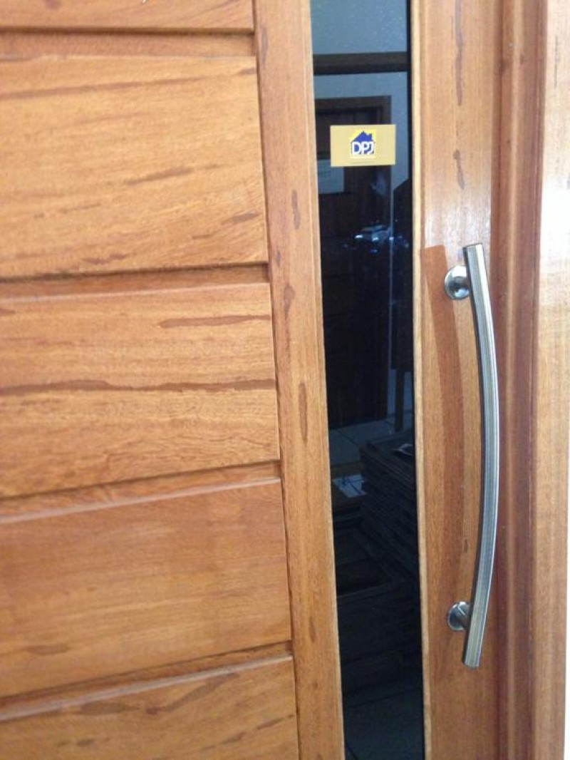 Foto2 - Puxador Para Porta Duplo Tubular Lateral Curvo em Aluminio Antique