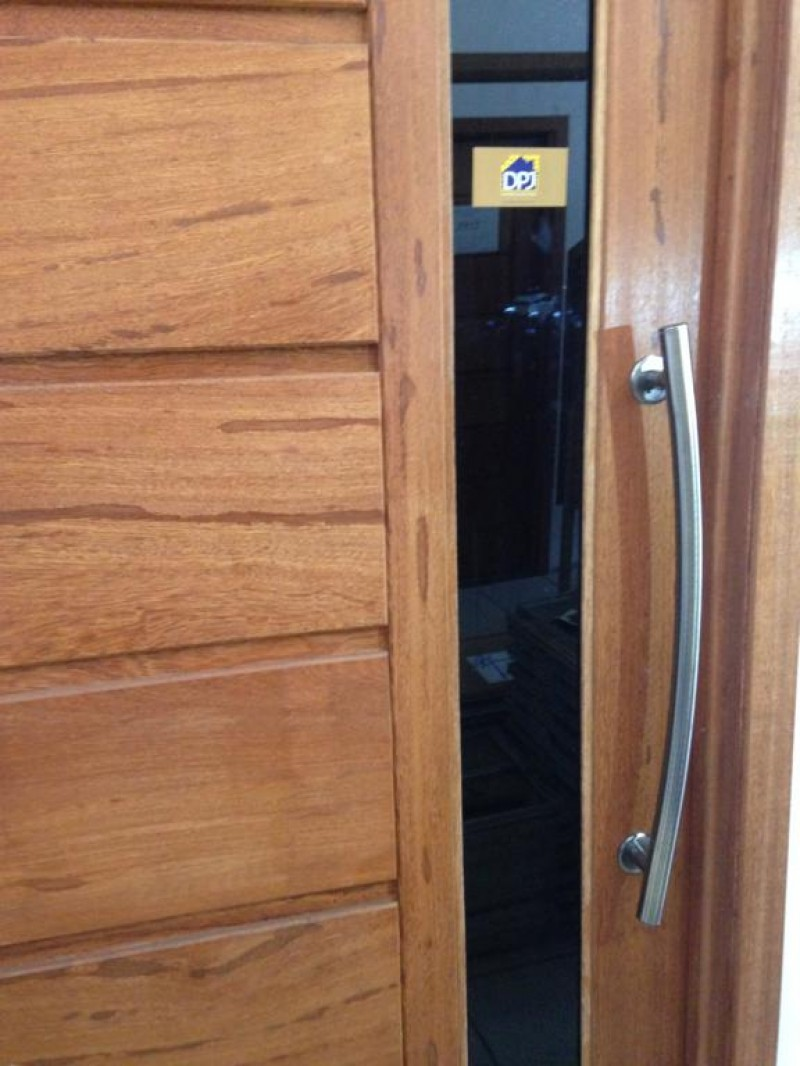 Foto3 - Puxador Para Porta Duplo Tubular Lateral Curvo em Aluminio Antique