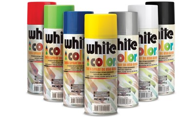 Foto 1 - TINTA SPRAY PRETO FOSCO ORBISPRAY - 340ML/220G