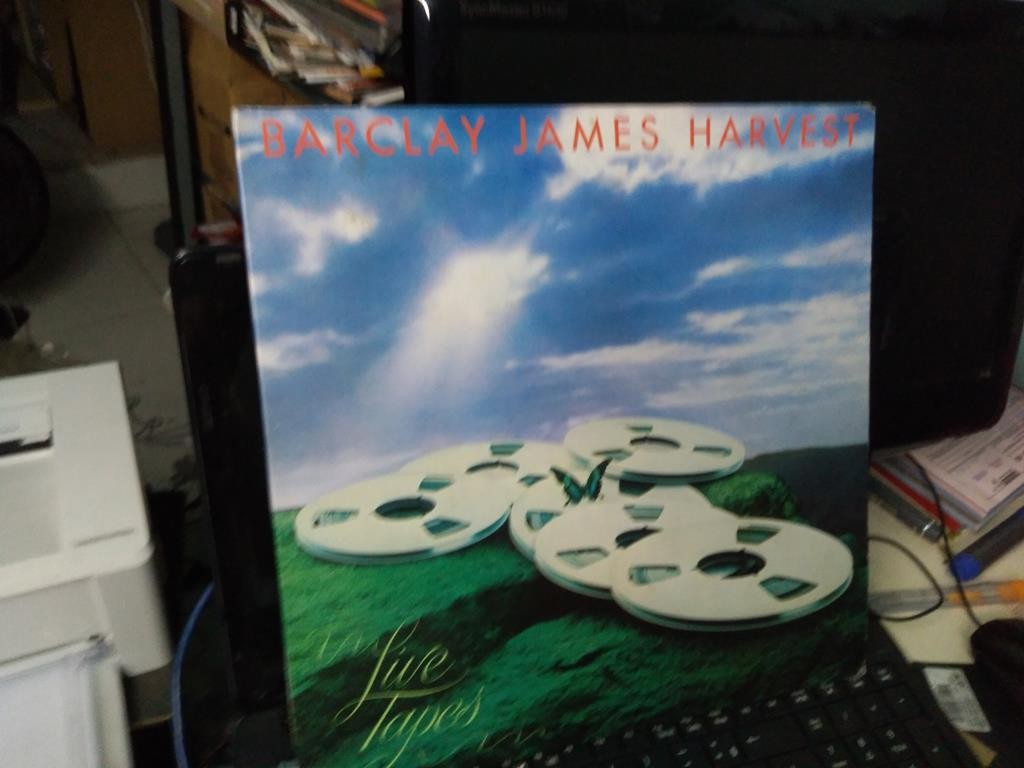 Foto 1 - BARCLAY JAMES HARVEST, Lp duplo Live Tapes, 1978 importado