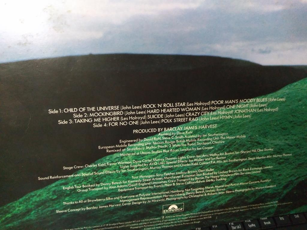 Foto3 - BARCLAY JAMES HARVEST, Lp duplo Live Tapes, 1978 importado