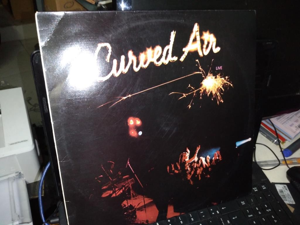 Foto 1 - CURVED AIR, LP Curved Air Live, London-1975