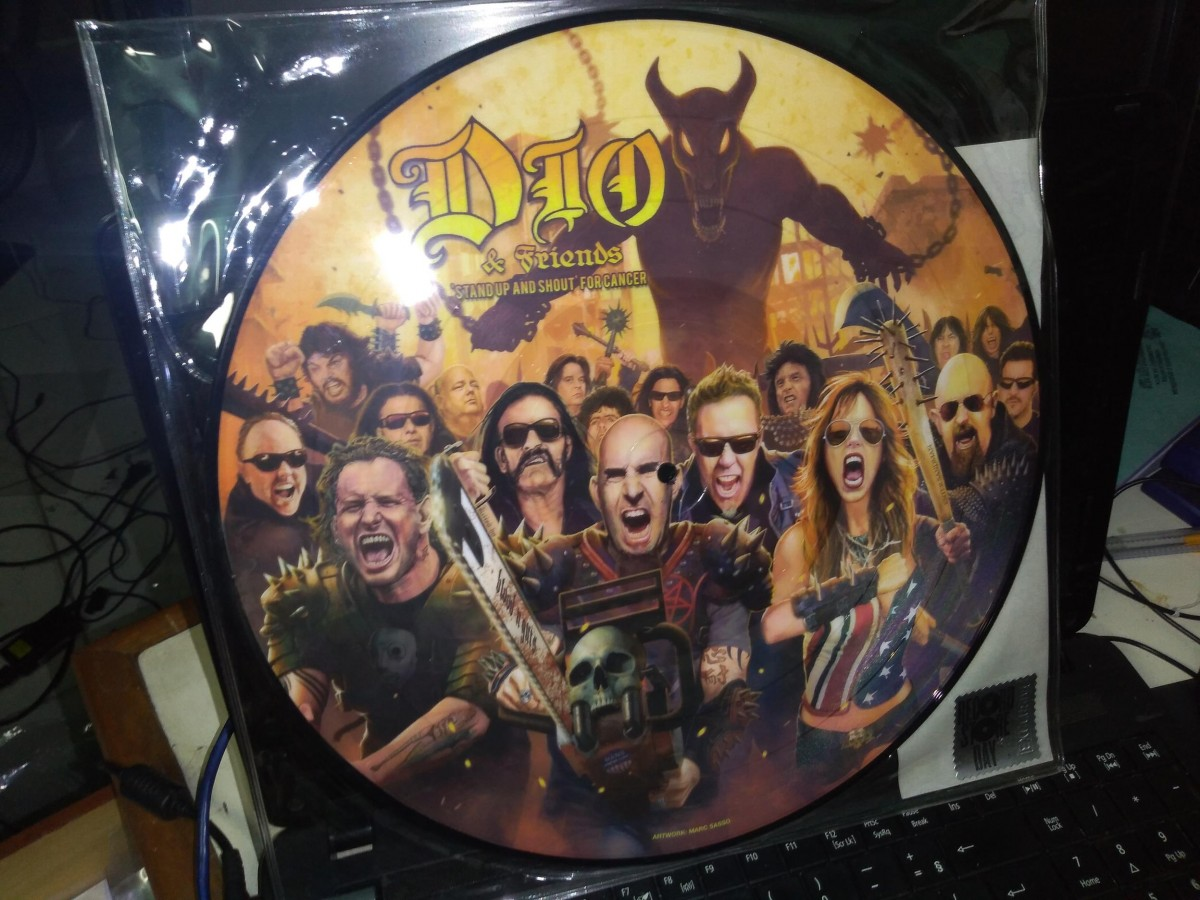 Foto2 - DIO (ronnie james dio) & Friends, LP Stand Up And Shout For Cancer - picture disc 2014