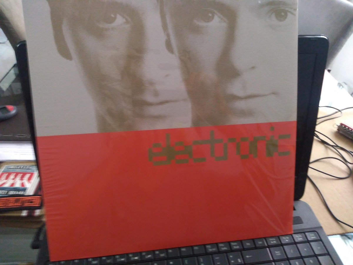 Foto 1 - ELECTRONIC ( bernard summers - new order & johnny marr - smiths), LP Electronic, 1988