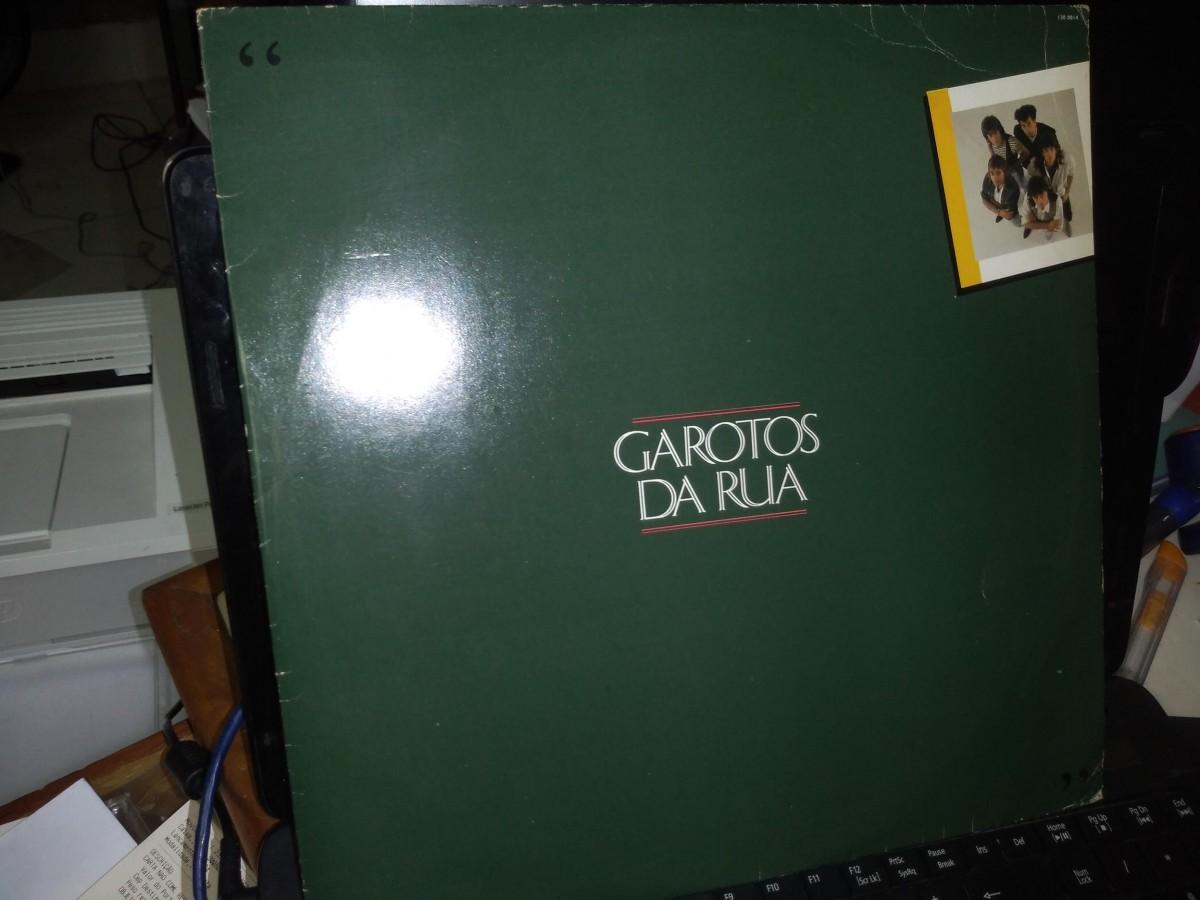 Foto 1 - GAROTOS DA RUA, LP Garotos da Rua, Plug-1987 com encarte