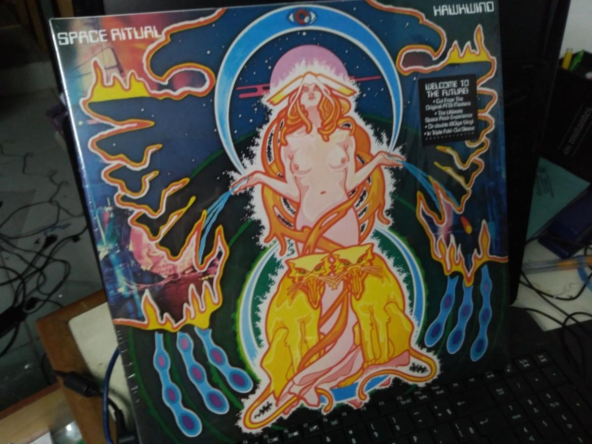 Foto 1 - HAWKWIND, Lp Duplo Space Ritual, ao vivo, Parlophone-1973 reed. 180gr 2015