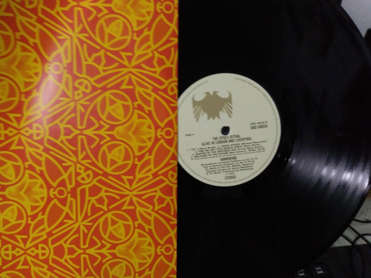 Foto3 - HAWKWIND, Lp Duplo Space Ritual, ao vivo, Parlophone-1973 reed. 180gr 2015