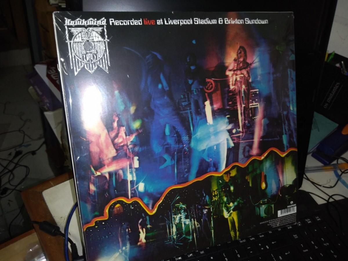 Foto5 - HAWKWIND, Lp Duplo Space Ritual, ao vivo, Parlophone-1973 reed. 180gr 2015