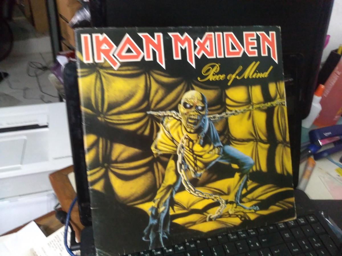 Foto 1 - IRON MAIDEN, Lp Piece of Mind, Emi-1983 capa dupla, zero km.