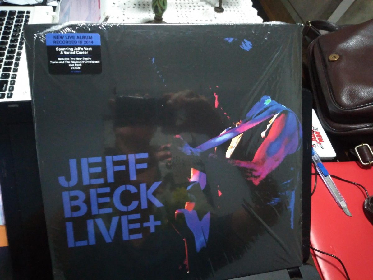 Foto 1 - JEFF BECK, Lp duplo 180gr. Jeff Beck Live +, 2015 importado dos Estados Unidos.