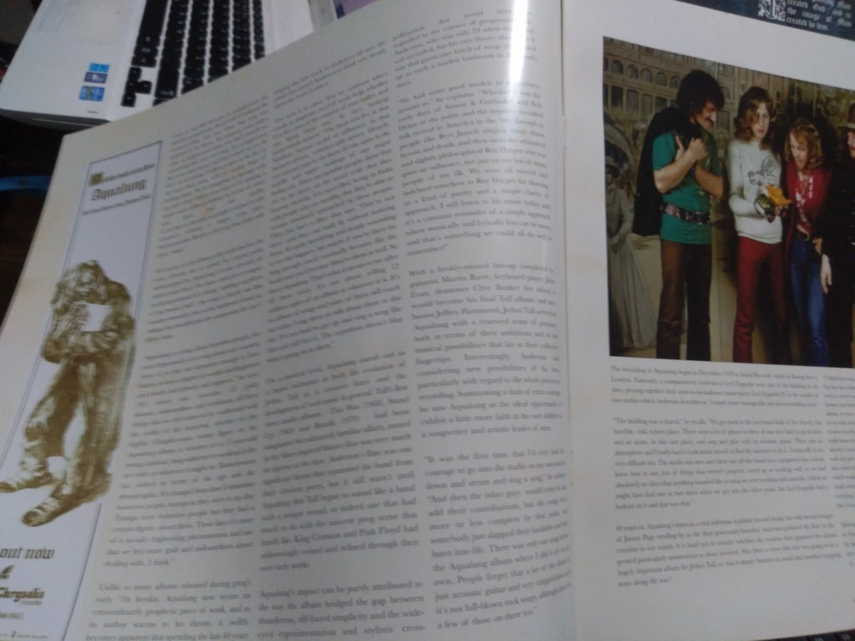 Foto5 - JETHRO TULL, Lp 180 gramas Aqualung Edição 40 Anos, importado