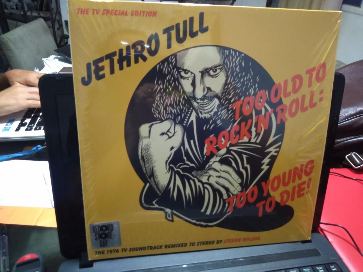 Foto 1 - JETHRO TULL, Lp 180gr Too Old To Rock'n'Roll.... Reed.Especial 40th aniversário, importado, zero km.