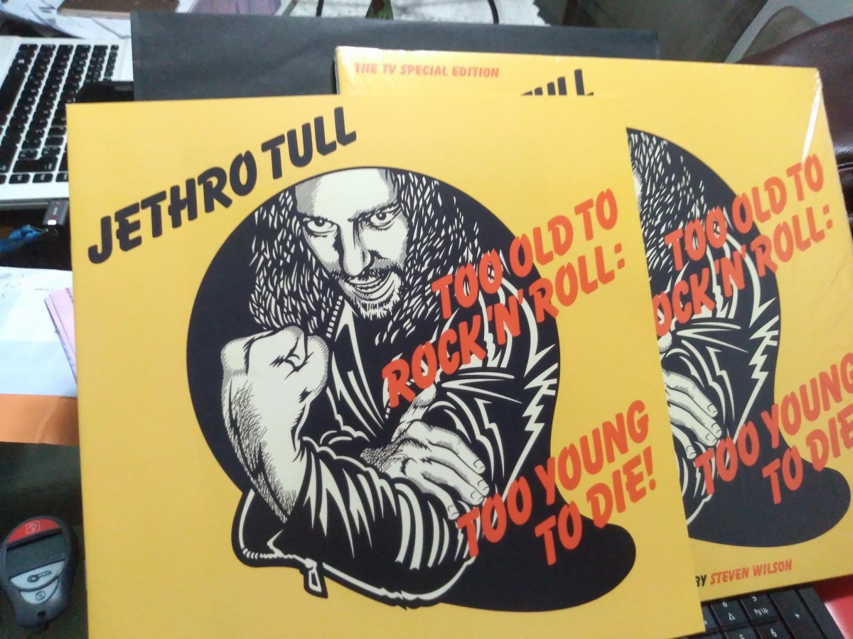 Foto5 - JETHRO TULL, Lp 180gr Too Old To Rock'n'Roll.... Reed.Especial 40th aniversário, importado, zero km.