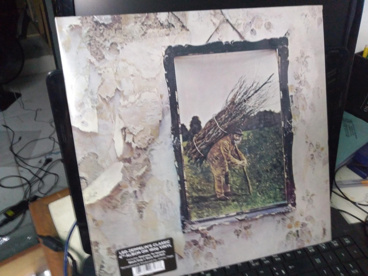 Foto 1 - LED ZEPPELIN, LP 180gr. Led Zeppelin vol.IV, 1971, reed. 2016 importado