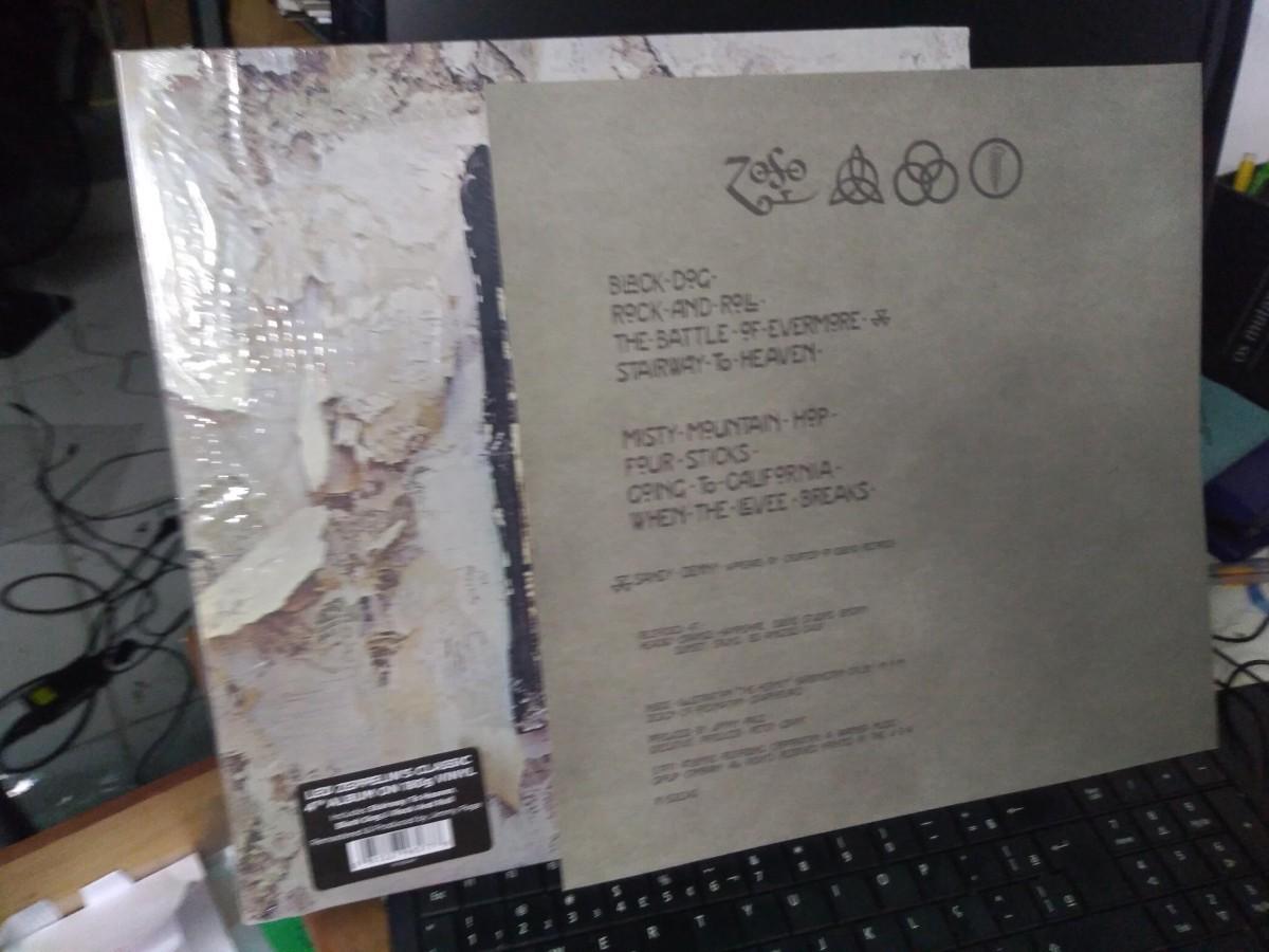 Foto4 - LED ZEPPELIN, LP 180gr. Led Zeppelin vol.IV, 1971, reed. 2016 importado