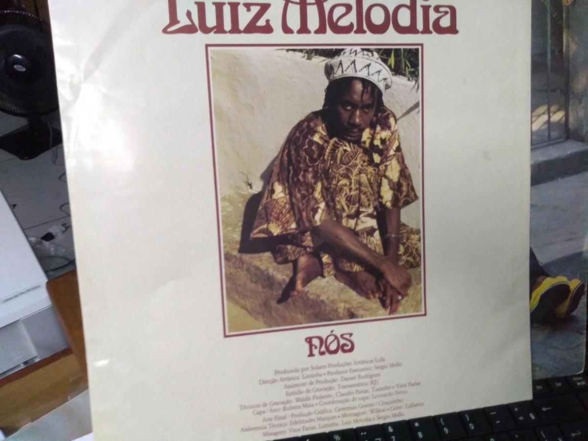 Foto2 - LUIZ MELODIA, Lp Nós, Warner-1980, novinho com encarte