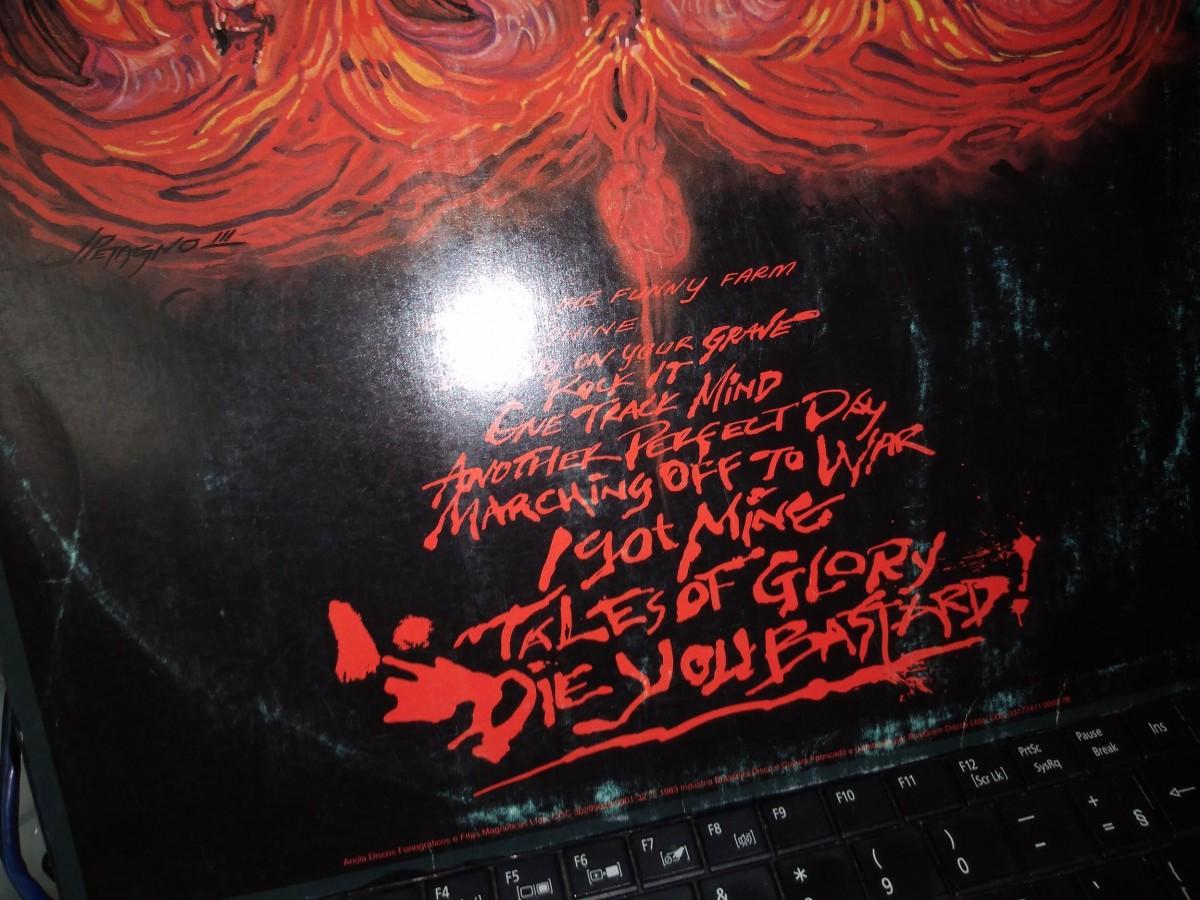 Foto4 - MOTORHEAD, Lp Another Perfect Day, Bronze-1983 novinho