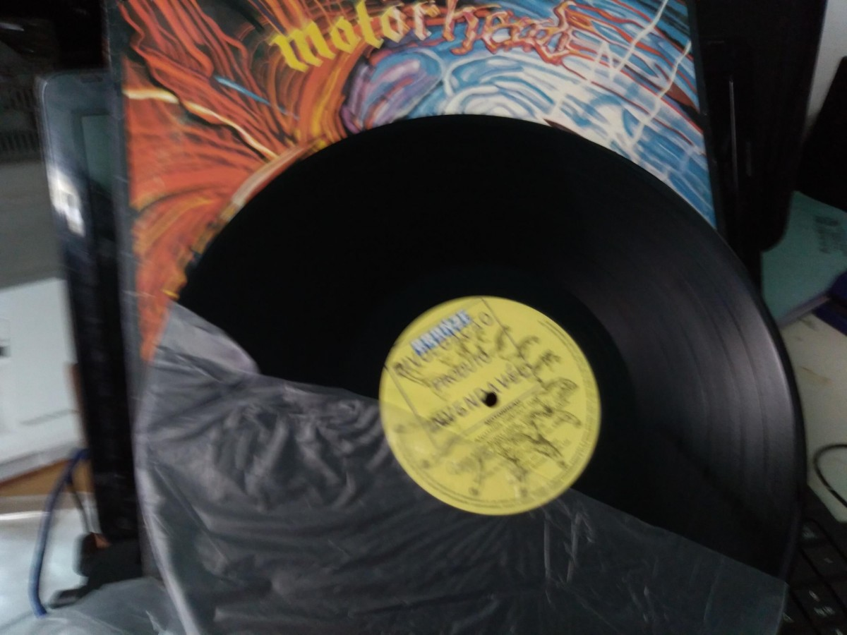 Foto5 - MOTORHEAD, Lp Another Perfect Day, Bronze-1983 novinho