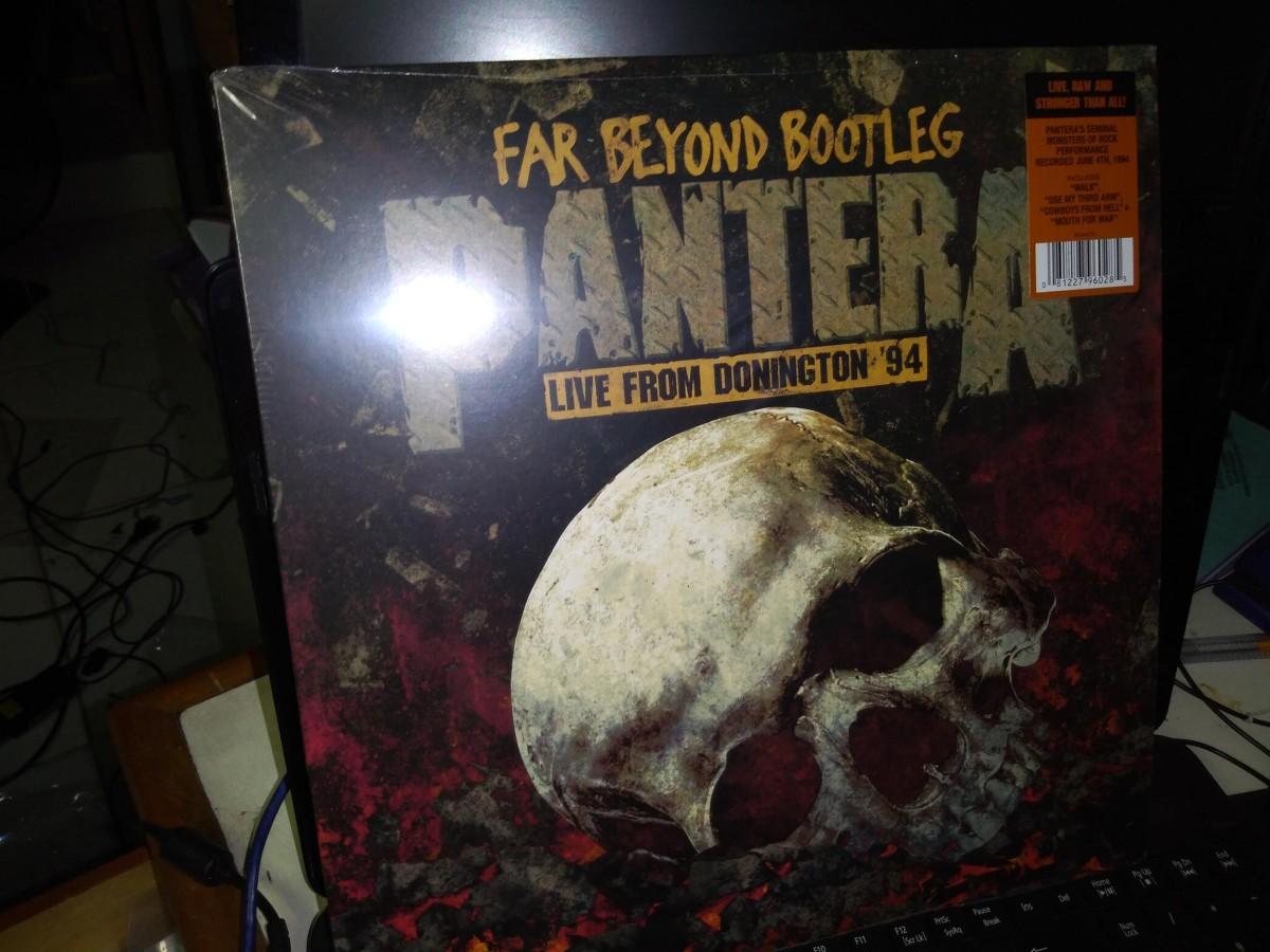Foto 1 - PANTERA, Lp Far Beyond Bootleg, Live Donington, Warner-1994 editado em 2014