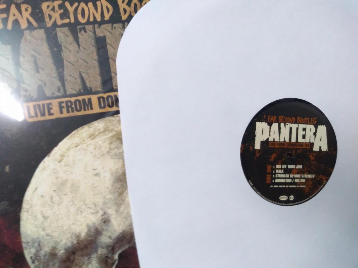 Foto2 - PANTERA, Lp Far Beyond Bootleg, Live Donington, Warner-1994 editado em 2014