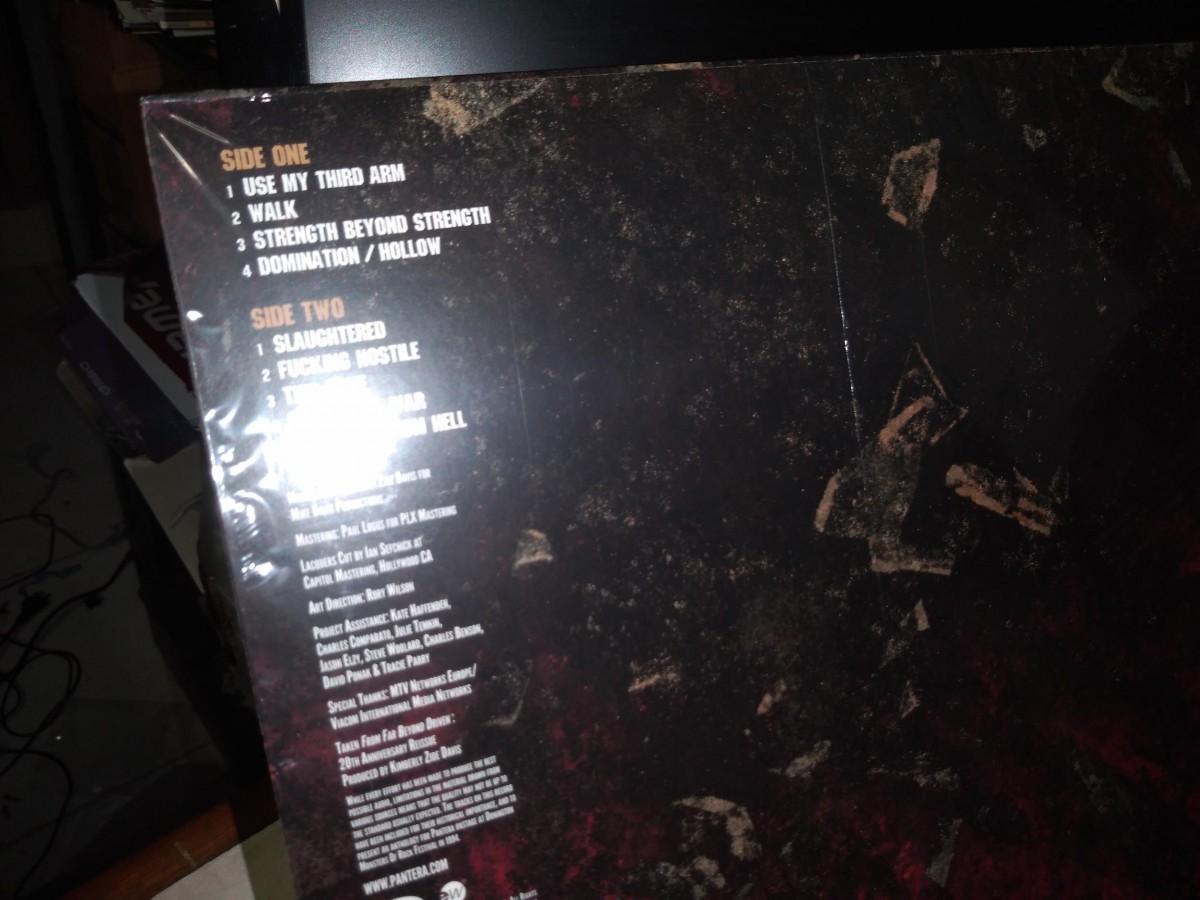 Foto4 - PANTERA, Lp Far Beyond Bootleg, Live Donington, Warner-1994 editado em 2014