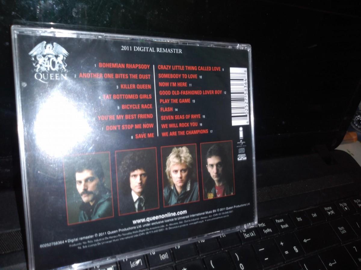 Foto2 - QUEEN, Cd Greatest Hits, Emi-2011 novo lacrado