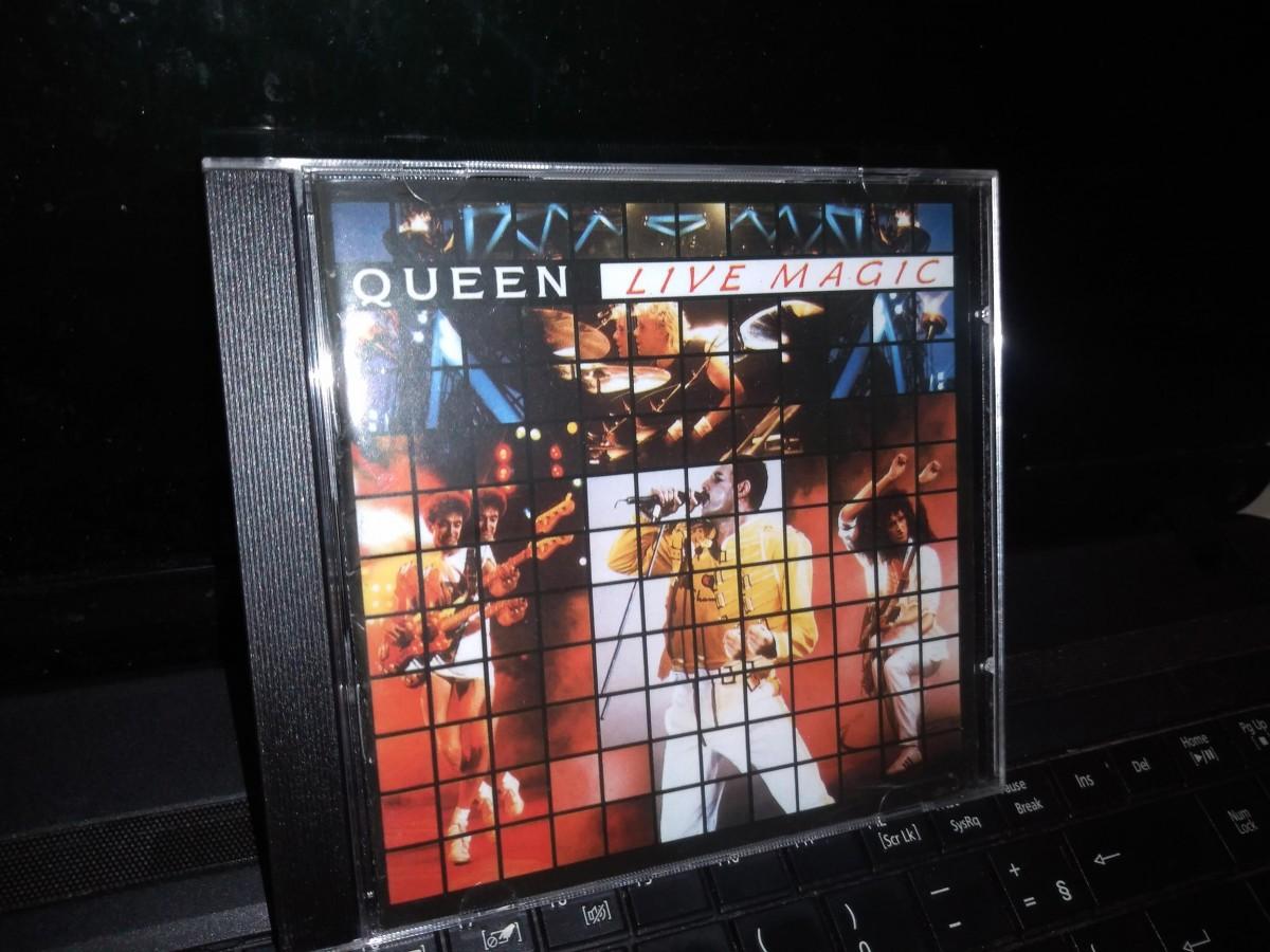 Foto 1 - QUEEN, Cd Live Magic, Emi-1986 Remaster Series