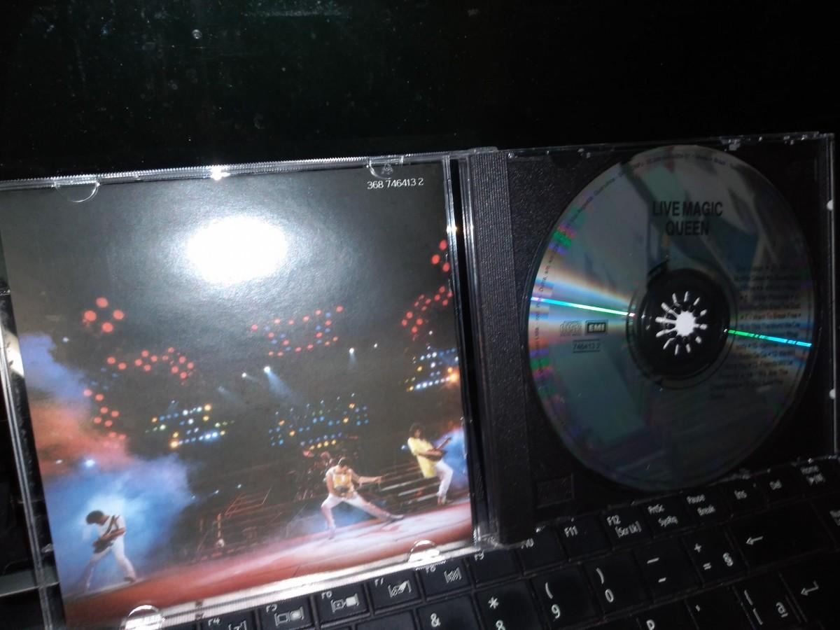 Foto2 - QUEEN, Cd Live Magic, Emi-1986 Remaster Series