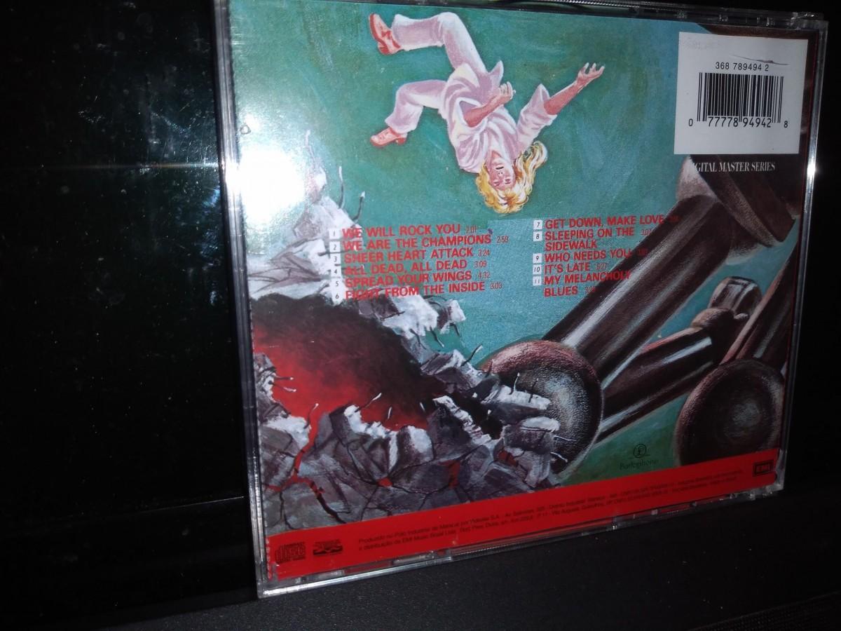 Foto2 - QUEEN, Cd News of The World, 1975 remaster de 1993