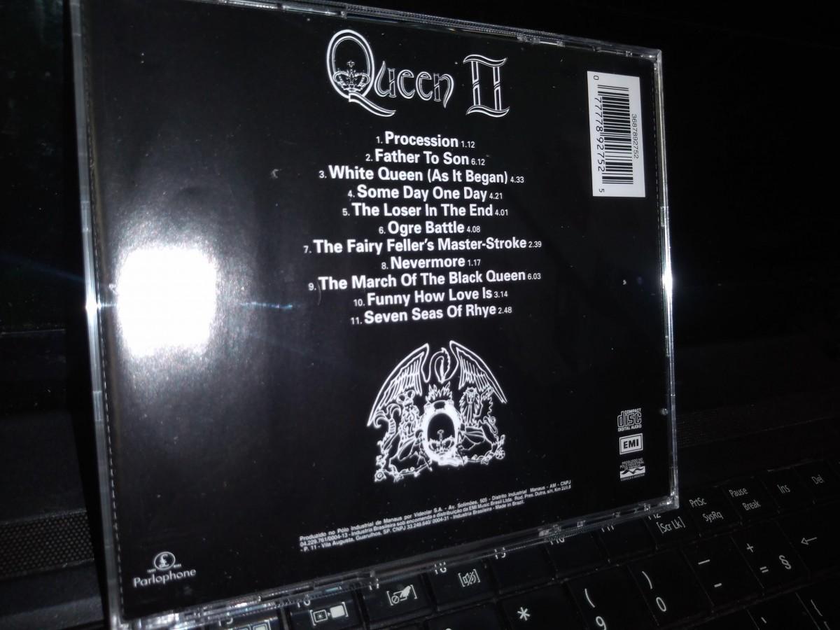 Foto3 - QUEEN, Cd Queen 2, Emi-1974 remaster 1993
