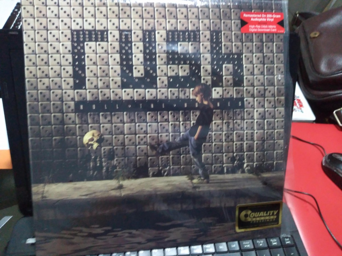 Foto6 - RUSH, Lp200gr Roll The Bones, Quality Pressing, com Encarte, importado, zero km.