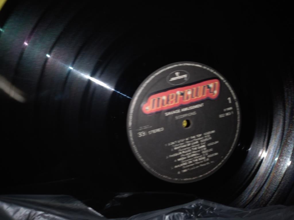Foto4 - SCORPIONS, LP Savage Amusement, Mercury-1988